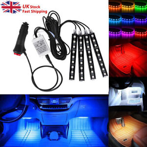 LED Lights For Cars Car Car Interior Colorful Decorative light Accessories