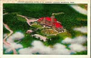 c1930's  Vintage Postcard Lookout Mountain Hotel Chattanooga Tenessee A59