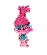 Troll - Poppy - Trolls - Movie - Pink - Embroidered Iron On Applique Patch
