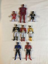 Lot Of 8 POWER RANGERS Action Figures