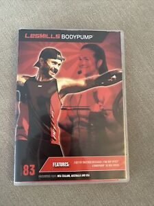 Les Mills BodyPump Release 83 Workout Kit. CD/DVD With Choreography Notes