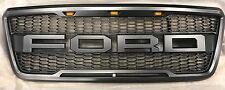 2004-2008 Ford F-150 F150 Raptor Style Conversion Grill Grille W/ F+R Authentic