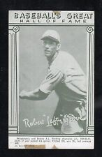 "1948 Exhibits ""Baseball's Great Hall of Fame""    Left Gove       HOF    LOOK !!!"