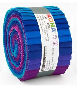 20 2.5 Beautiful LEMONDream Cotton Solids Jelly Roll WOF