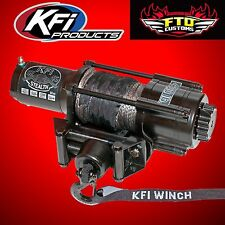 KFI SE45-R2 Stealth 4500lb Winch Kit w/Synthetic Cable 2015-2017 Polaris RZR 900