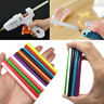10X 12 Color Mini Glue Gun Sticks Heating Adhesive Melt 100x7mm DIY Art Powder