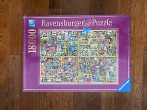 NEW Ravensburger 18000 MAGICAL BOOKCASE Jigsaw Puzzle #17825 SEALED