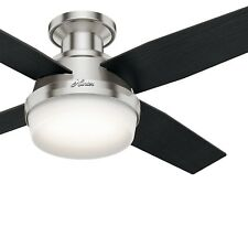 Hunter Fan 44 inch Contemporary Ceiling Fan with LED Light and Remote Control