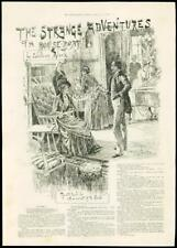1888-Fine Art compte du dodo femme assise gentilhomme debout salon (037)