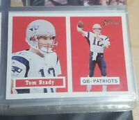TOM BRADY 2002 TOPPS HERITAGE BLACK BACK #50 NEW ENGLAND PATRIOTS