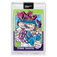 TOPPS PROJECT 2020 CARD George Brett #133 Ermsy CENTERED+- Kansas City Royals