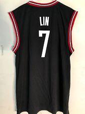 Adidas NBA Jersey Houston Rockets Lin Black sz L