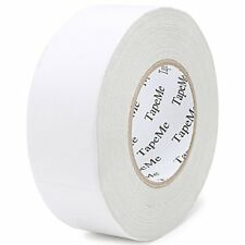 TapeMe 2 Inch by 40 Yards Double Sided Non-Slip Adhesive Carpet Tape, White