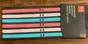 Under Armour Girls Headbands Size Youth Color Multi-color