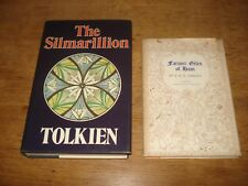 THE SILMARILLION & FARMER GILES OF HAM .J.R.R. TOLKIEN.H/B/S 1977 AND 1966