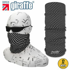 Carbon-440 Multifunctional Headwear Neckwear Snood Scarf Bandana Headband Tube