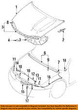 MITSUBISHI OEM 95-99 Eclipse Hood-Insulator Insulation Pad Liner Clip MB020923