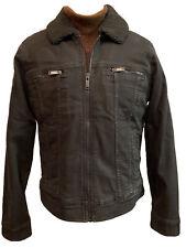 $448 John Varvatos Star USA Andy Sherpa Trucker Jacket Size S