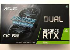 🔥NEW SEALED✅ ASUS GEFORCE RTX 2060 DUAL EVO OC GPU 6GB🚚FREE INSURED DELIVERY