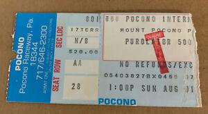 NASCAR 1976 Purolator 500 ticket stub Richard Petty 179th win