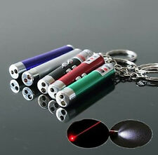 Mini Chic Small Red Laser Pointer Pen LED w/ Money Detector Child Pet Cat Toy PA