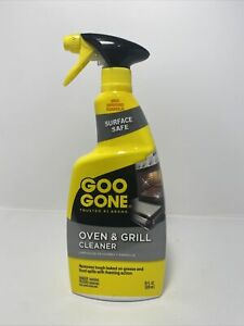 GOO GONE OVEN & GRILL Crates Pots Grease CLEANER Surface Safe 28oz New Improved