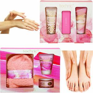 Technic HAND & FOOT CARE GIFT SET Feet Lotion Cream Scrub Women Christmas 2020
