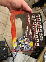 Vintage G1 Transformers Autobot Mirage Action Figure Box Only 1984 Takara Japan!