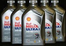 10x1 Liter Shell HELIX Ultra 5W-40 Motoröl 5W40 MERCEDES 229.5 BMW Porsche