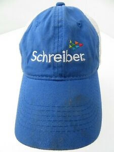 Schreiber Foods Dairy Company Adjustable Adult Baseball Cap Hat
