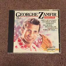 Georghe Zamfir Panflute Vol. 1 by Gheorghe Zamfir (CD, Music, New Age, 1990)