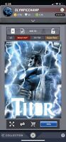 Topps Marvel Collect Digital Thorsday Ultimate Thor  Week 13 750cc SUPER RARE