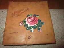 Vintage Leather Stockings & Handkerchiefs Box Minneapolis, Minn.