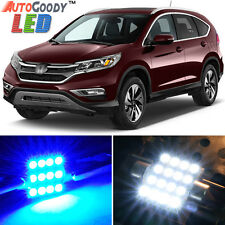 8 x Premium Blue LED Lights Interior Package Kit for Honda CR-V 2012-2017 + Tool