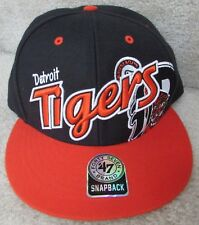 MLB Detroit Tigers 47 Brand Baseball Snapback Hat Cap New NWT