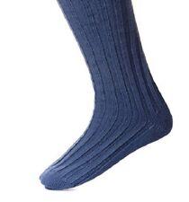 House of Cheviot Children's Lomond Kilt Socks - Ancient Blue, size 3-5