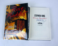 Stephen King Signed Autograph Rose Madder 1st Edition/1st Print HC Book