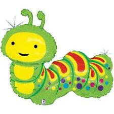 Holographic Cute Caterpillar Foil Balloon Super Shape 81cm (32in)
