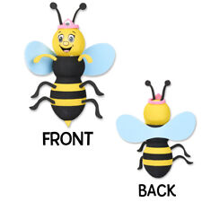 New listing Tenna Tops® Queen Bumble Bee (Blue Wings) Car Antenna Topper / Antenna Ball