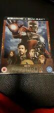 Iron Man 2 Zavvi 4k Blu ray Steelbook Ovp