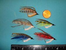 FLY FISHING FLIES - Asst. Traditional BENDBACKS size #4 (5 each)