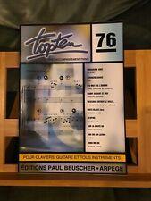 Top Ten n°76 chansons variété française partition chant piano accords Beuscher