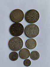 Lot de pieces de monnaies argent