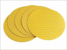 Flex Power Tools - Hook & Loop Sanding Paper Perforated 80 Grit Pack 25