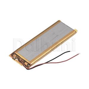 503085, Internal Lithium Polymer Battery 7.7V 1200mAh 5.0x30x85mm