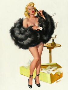 Joyce Ballantyne Pin Up Girls Giclee Art Paper Print Poster Reproduction