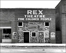 Colored Movie Theater #1 Photo Leland Mississippi 1937