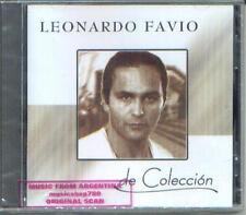 LEONARDO FAVIO DE COLECCION SEALED CD NEW GREATEST HITS