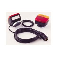 Kit feux éclairage magnétique - 2 feux arrieres pour remorque cable 7,50 mètres