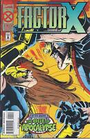 Factor X Comic Issue 4 Age Of Apocalypse Modern Age First Print 1995 Marvel